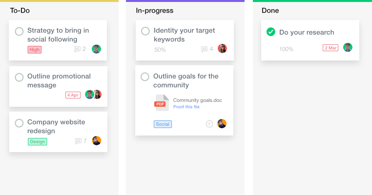 ProofHub as Trello kanban alternative