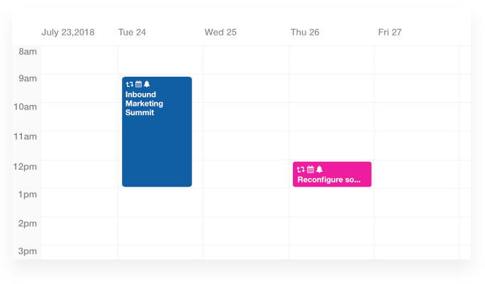 Set automatic reminders with ProofHub's project scheduling software