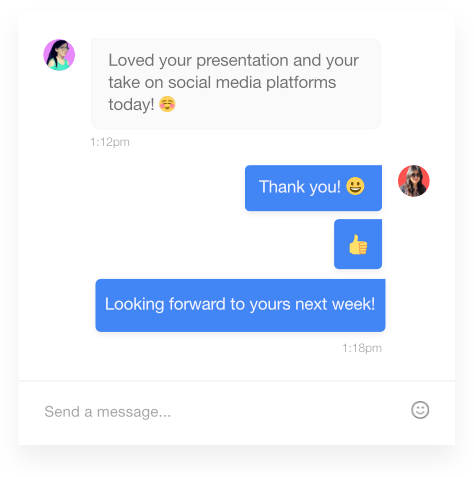 Use emojis with ProofHub's internal communication tool