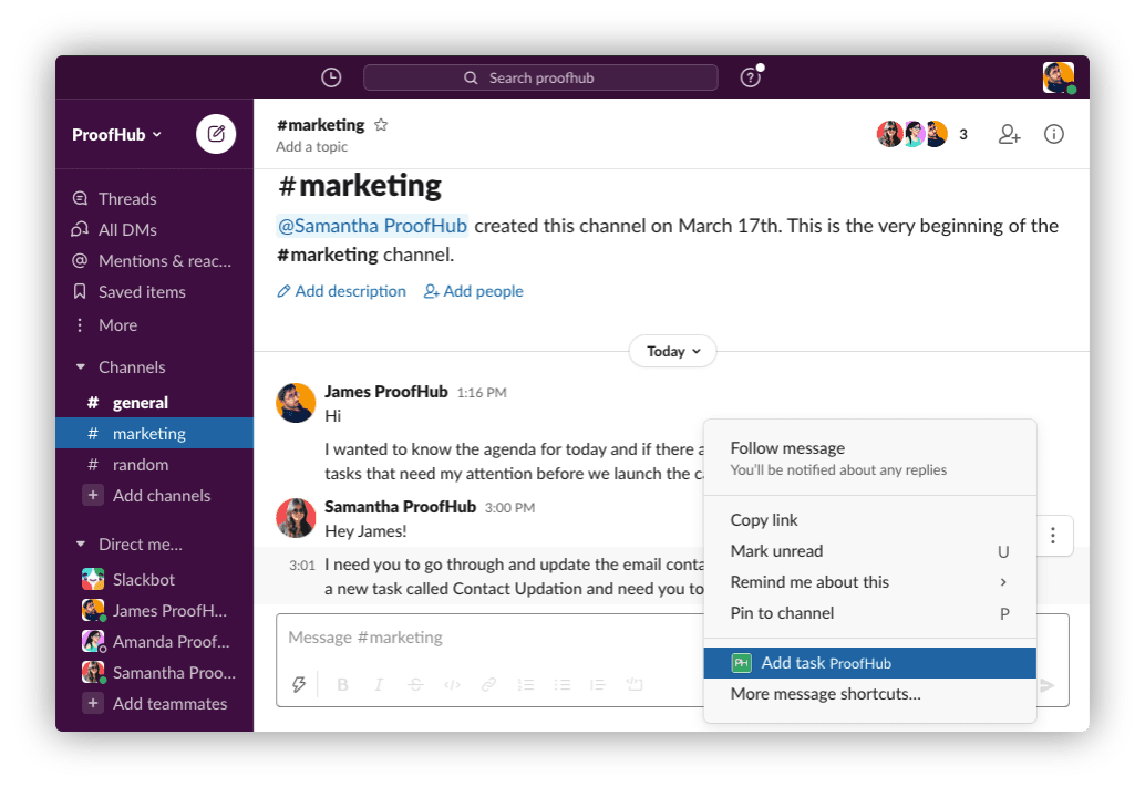 Turn Conversations Into Actions with Slack integration