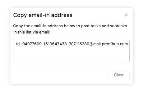 Email In