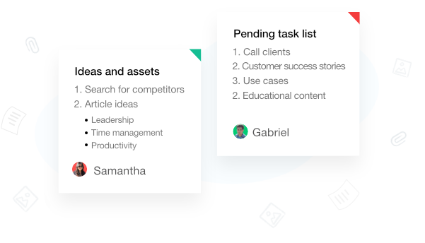 Keep notes the smarter way with note taking software- ProofHub