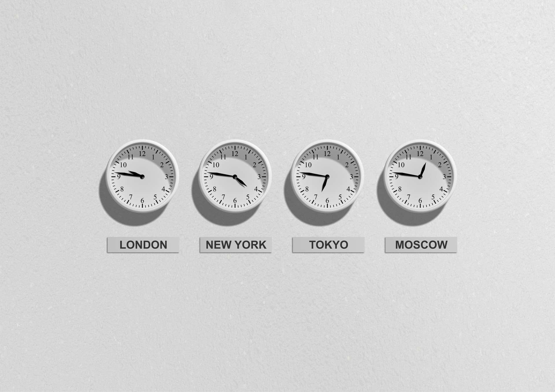 Different Time zone