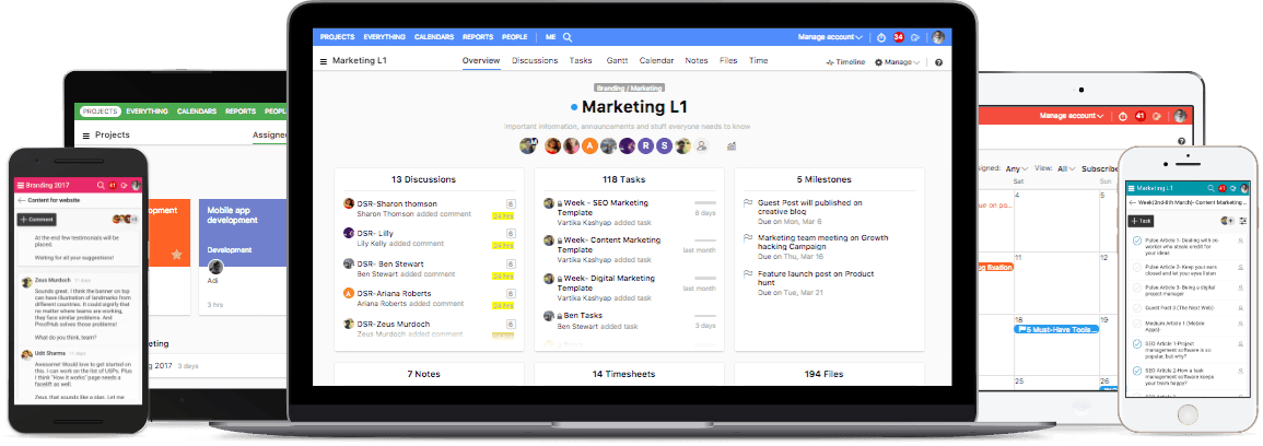 top Project management tool- ProofHub