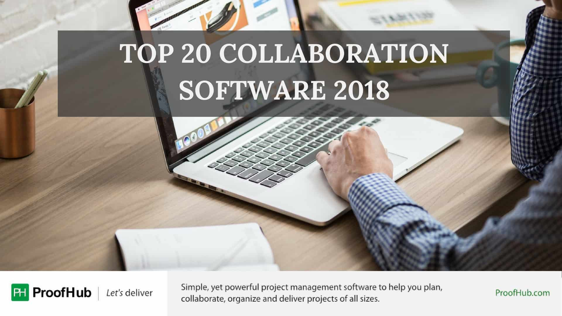 Top 20 Collaboration Software 2018