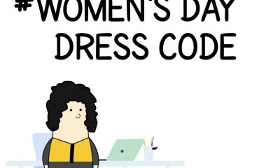 Women's Day dress code Comic strip