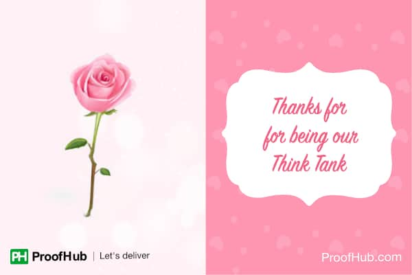 Pink - for the Think Tanks