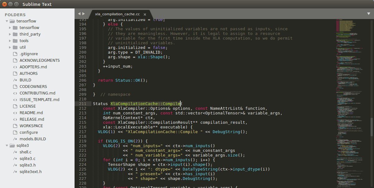 Sublime text - Text editor designer tool
