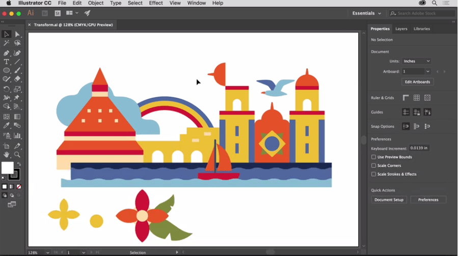 Adobe Illustrator as web & graphic designer tool