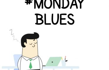 Monday Blues Comic Strip