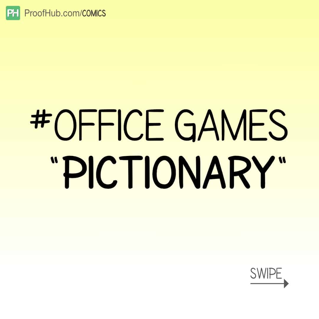 Office Games – Pictionary