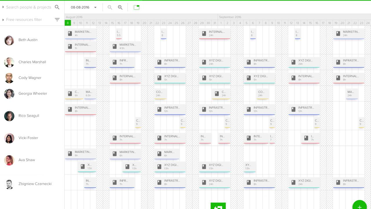 Teamdeck top project management tool