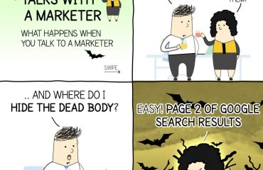 Talk with a marketer