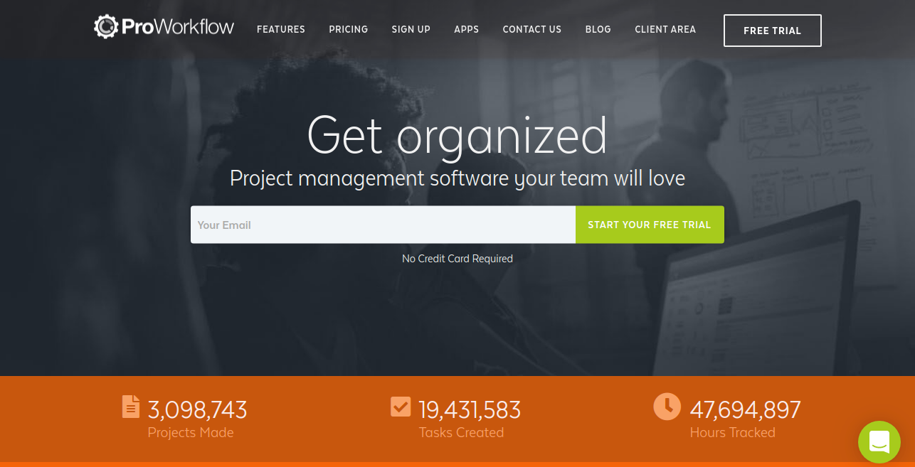 Proworkflow as workflow management system