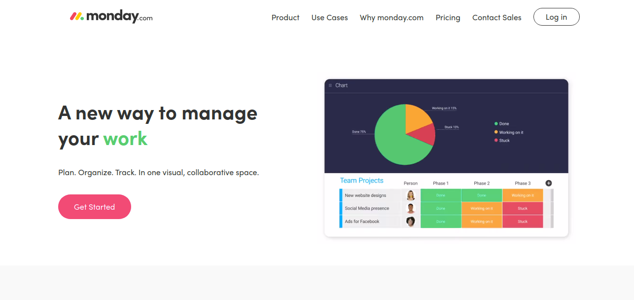 Monday.com as workflow management program
