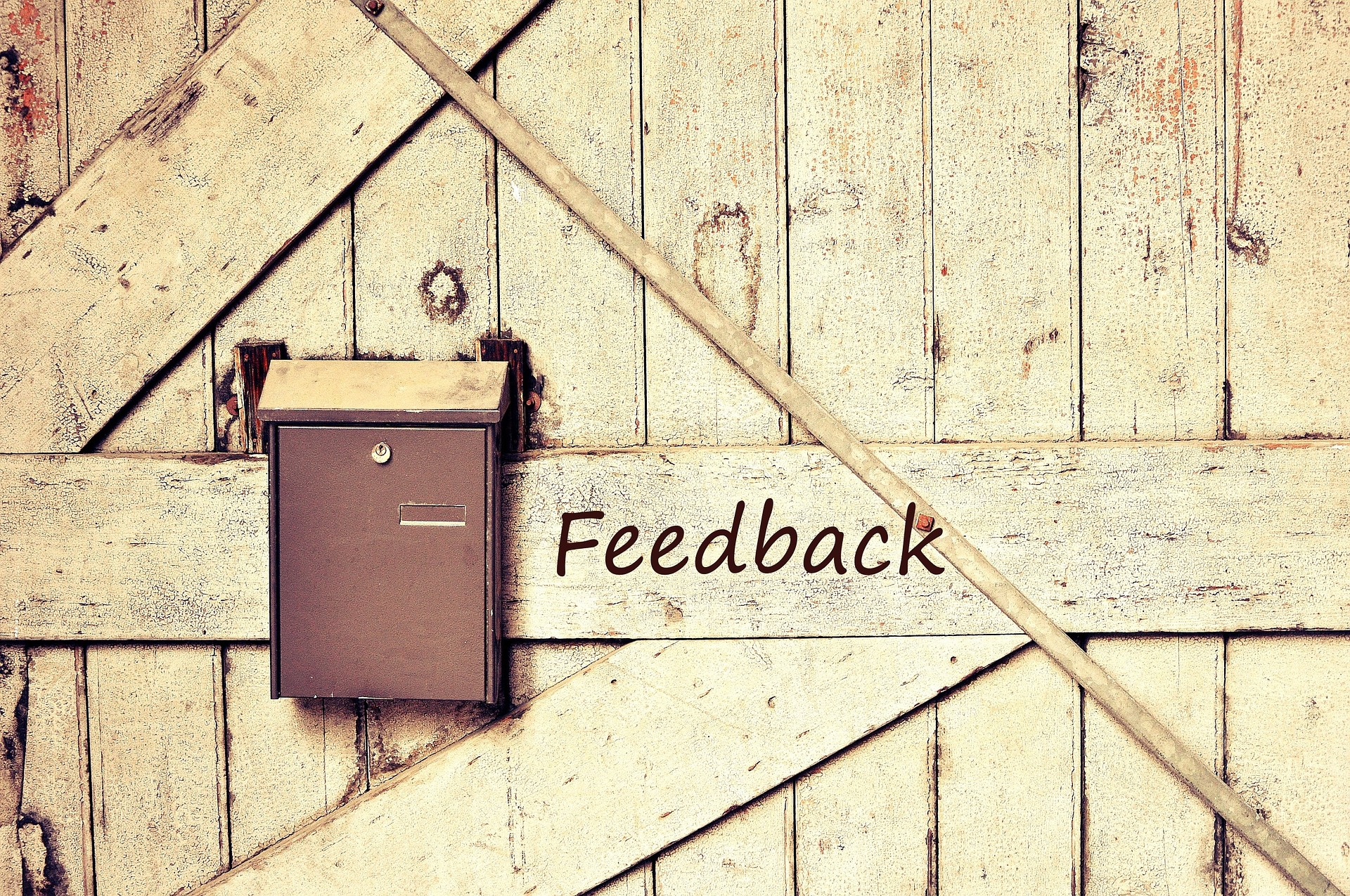 Ask for informal feedback