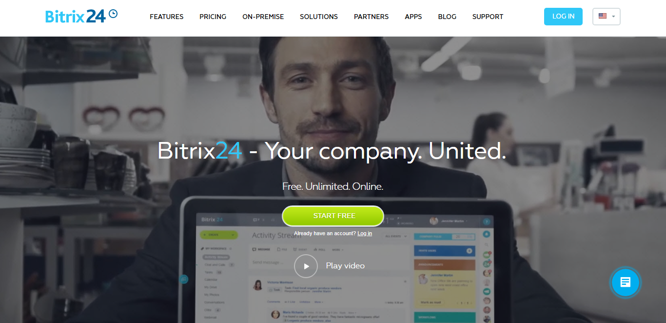 top business management system bitrix24