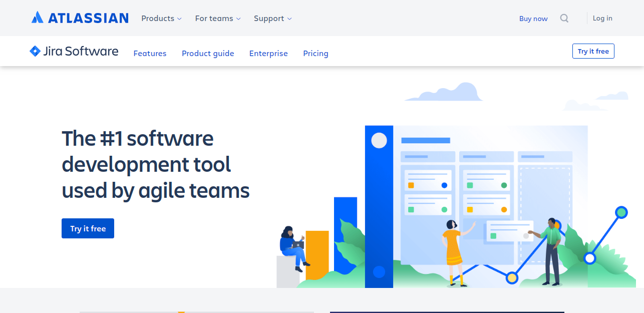 Business management software Jira
