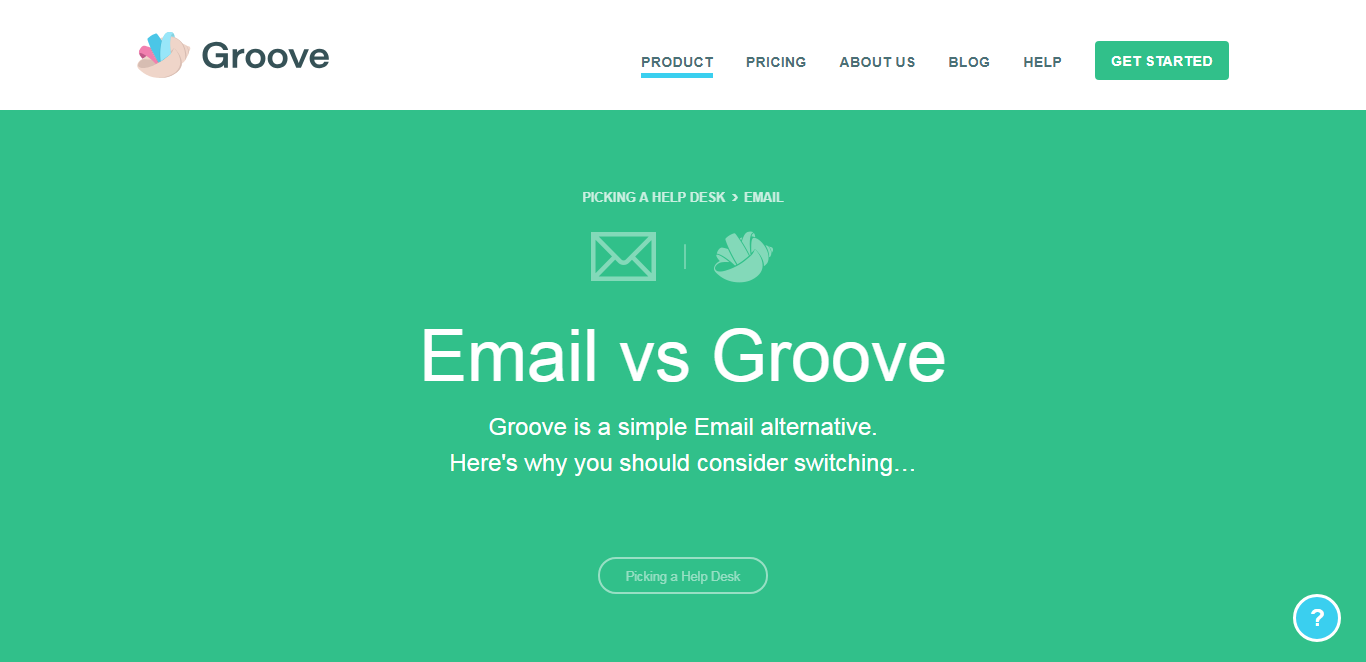 groove email alternative