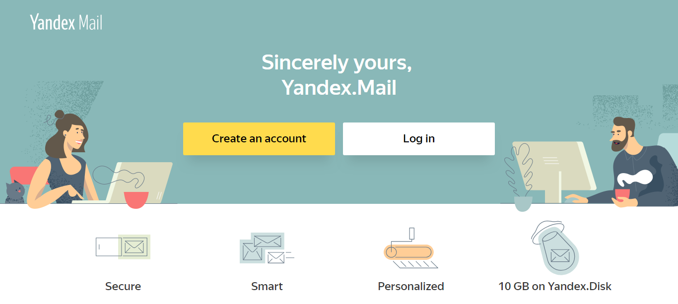 yandex mail alternative