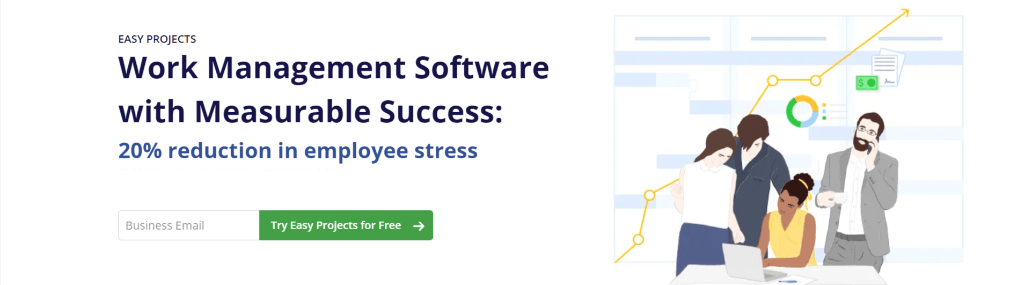 easy projects as zoho alternative