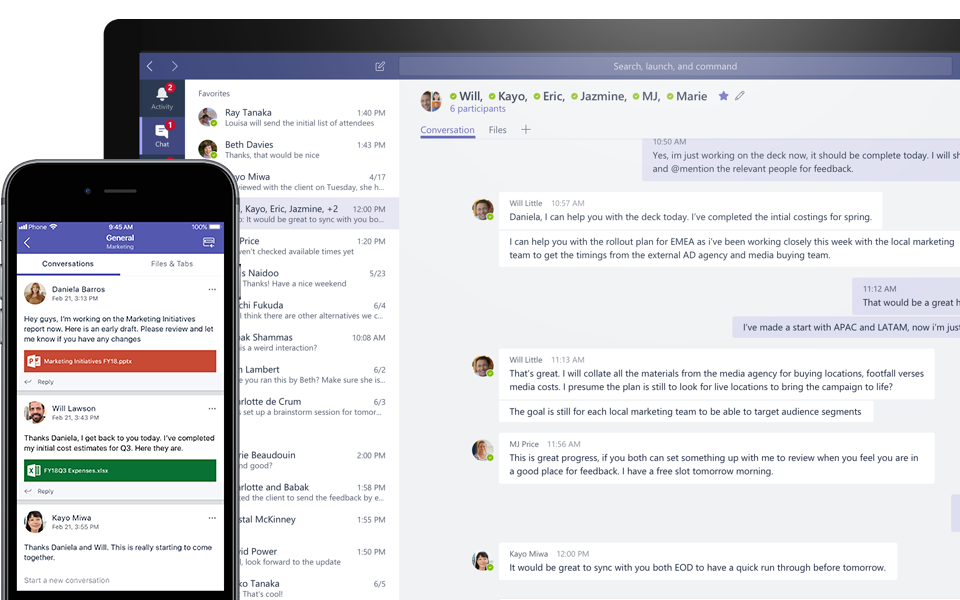 communication tool microsoft teams