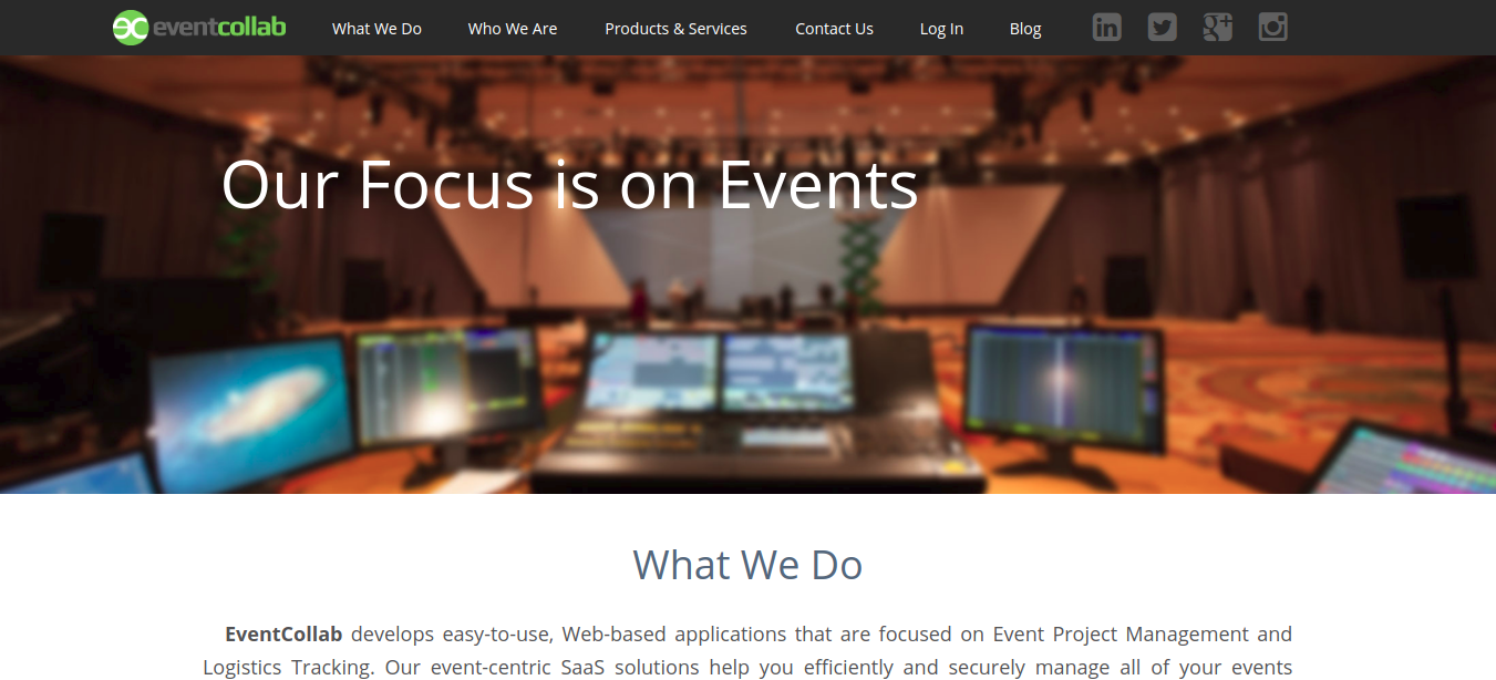 EventCollab as project management software