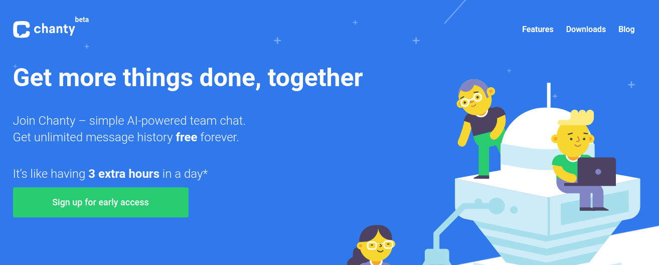 Chanty - Hipchat alternative