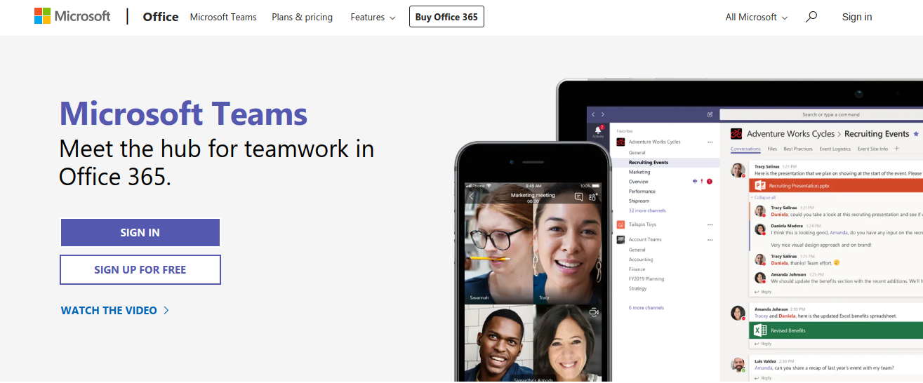 Microsoft Teams - Hipchat alternative