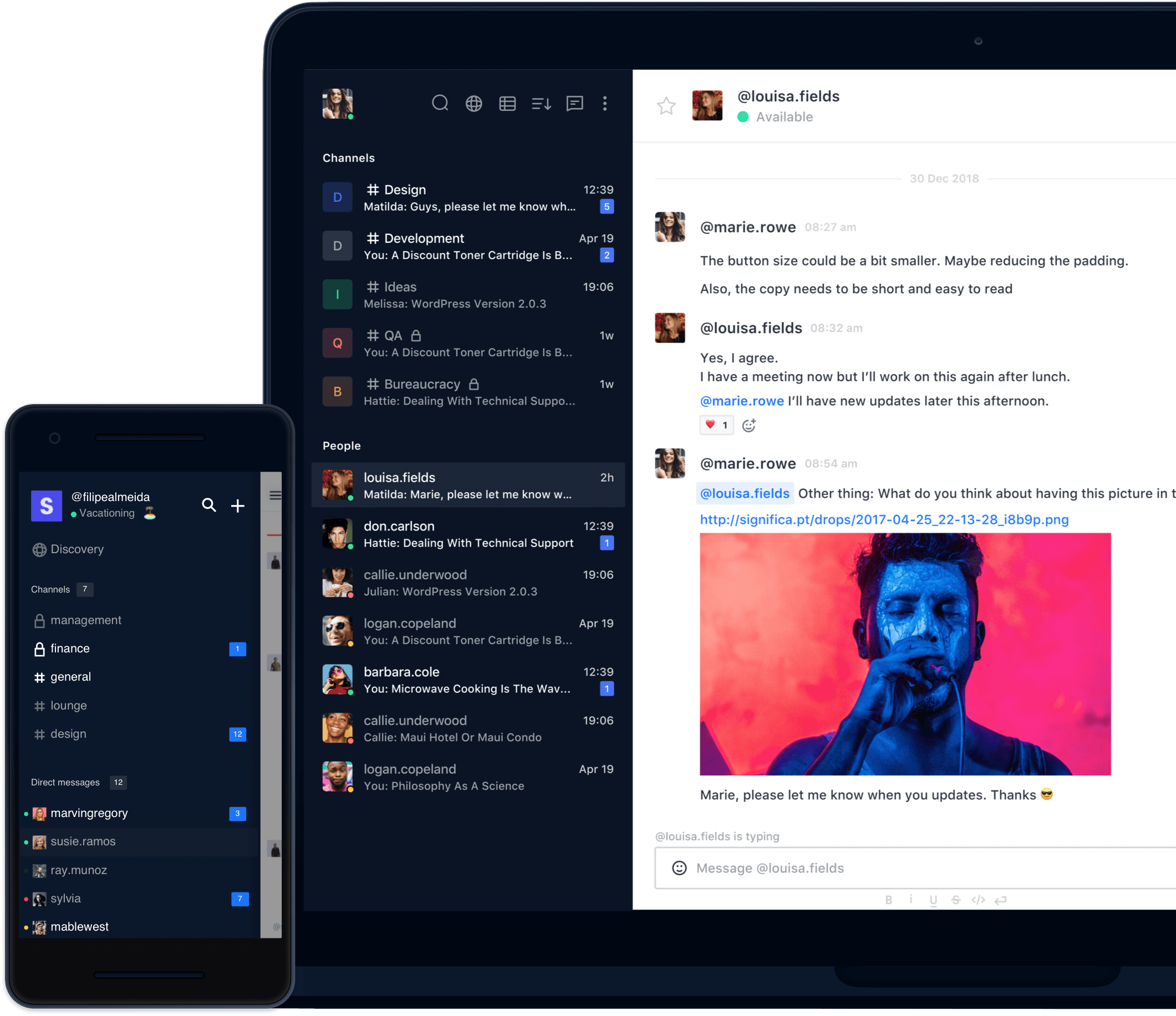 Rocket Chat as best replacement to Slack