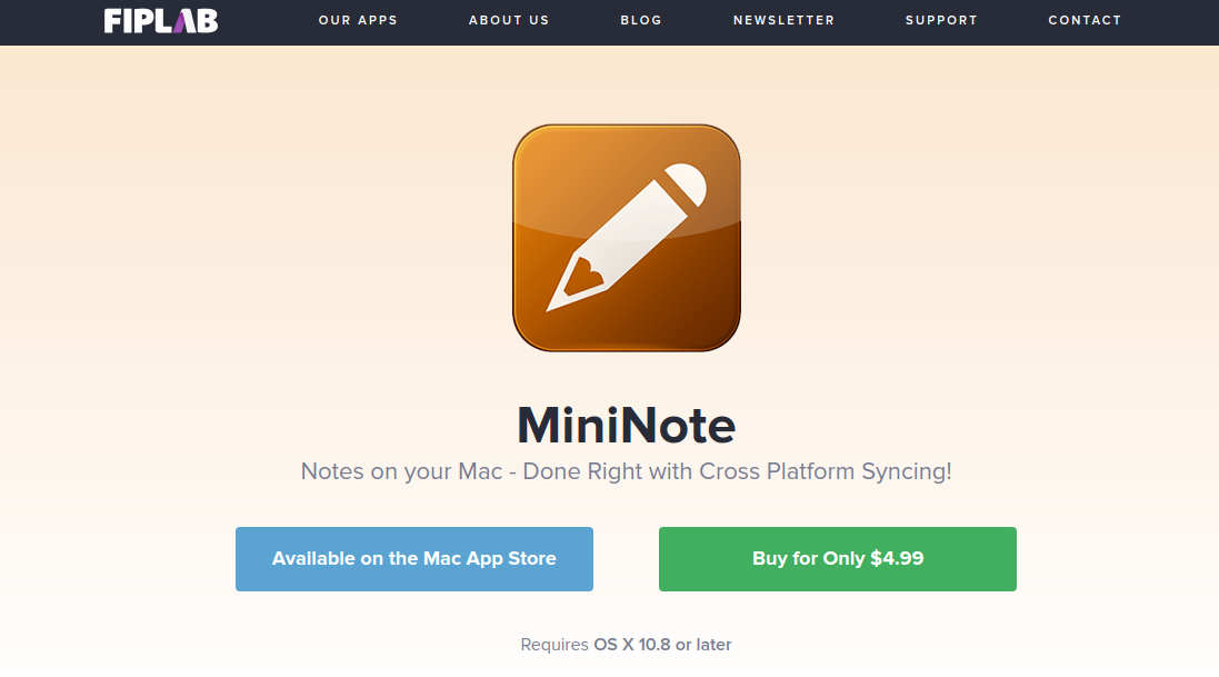 MiniNote, apps for todo lists
