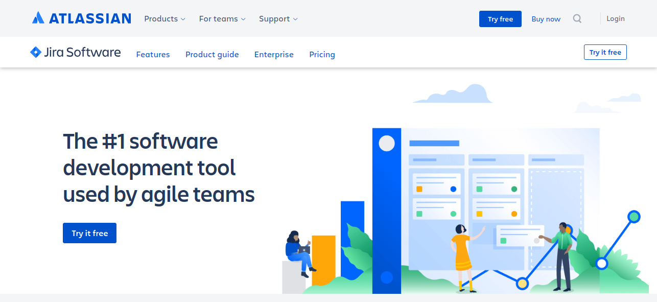 JIRA - Best alternative to Basecamp