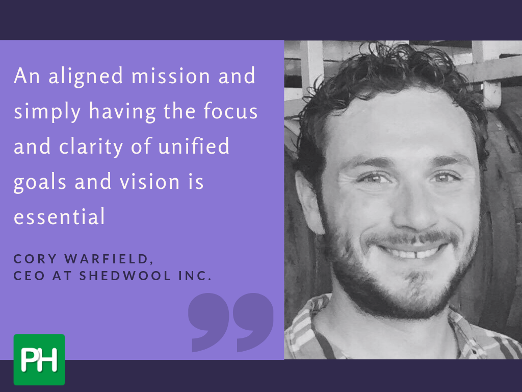 Cory Warfield talks about shared vision