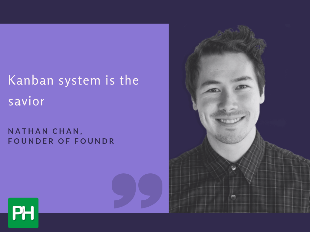 Nathan Chan says Kanban system is the savior