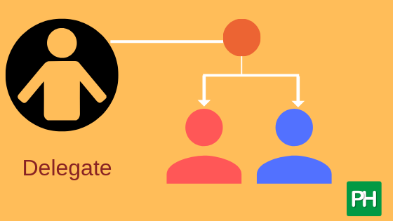 learn to delegate