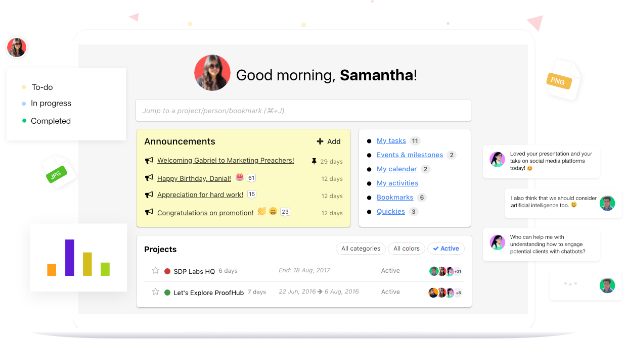 ProofHub as asana competitors