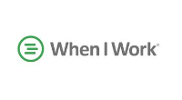 When I work logo