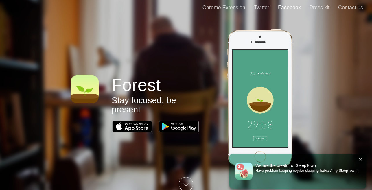 Forest as Time tracking apps