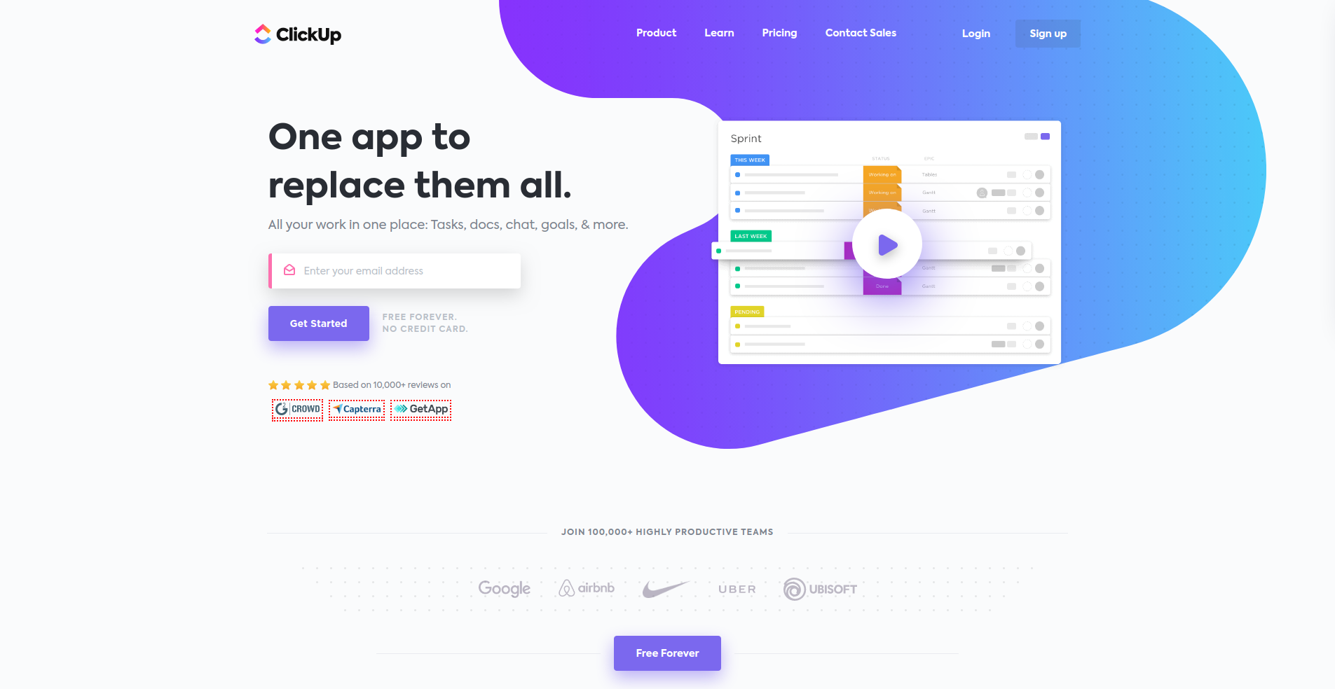 Clickup as best competitor for wrike
