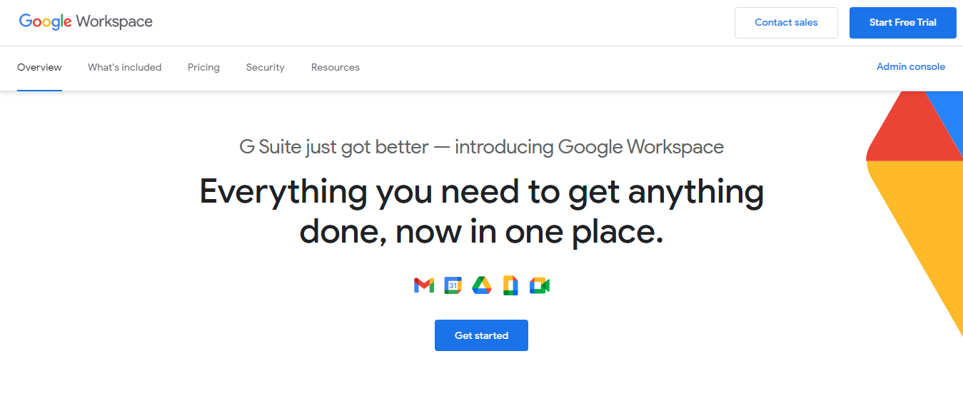 Google workspace as airtable substitute