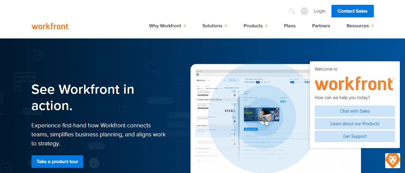 workfront as competitor to airtable