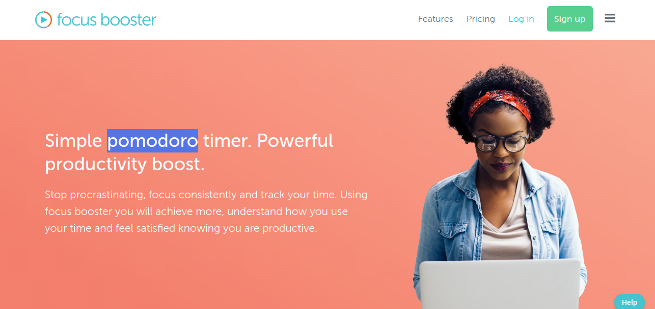 Best pomodoro and time management tool - Focus Booster