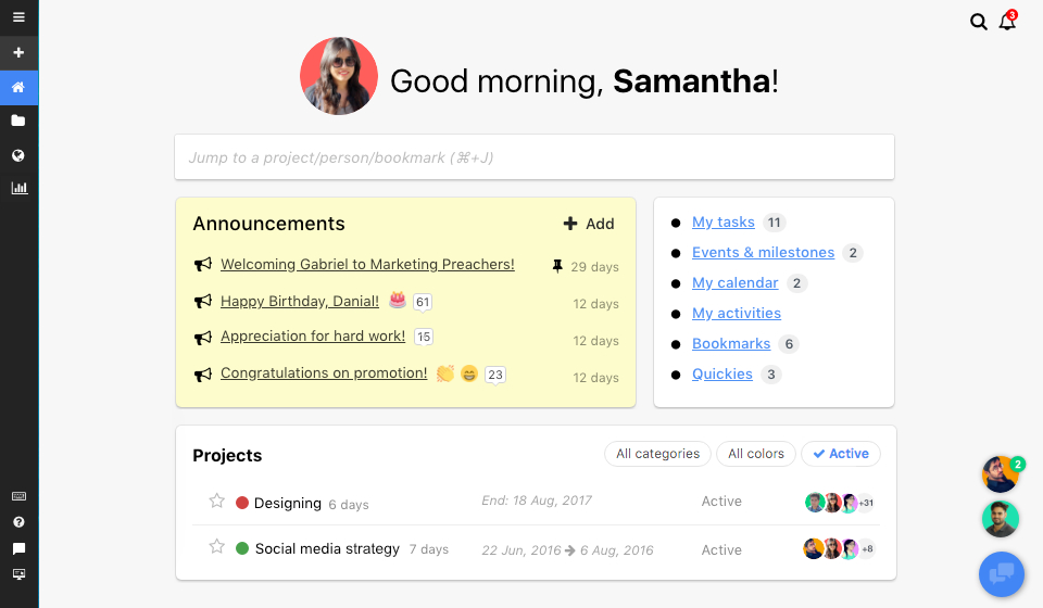 ProofHub as Asana alternatives