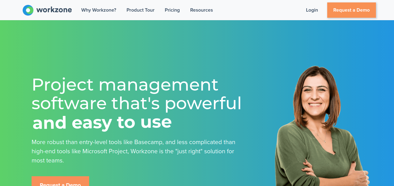 Workzone alternative for asana project management