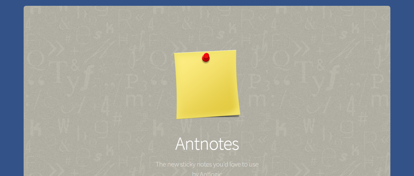 Antnotes, to do lists