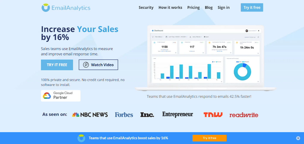 EmailAnalytics as remote work tool