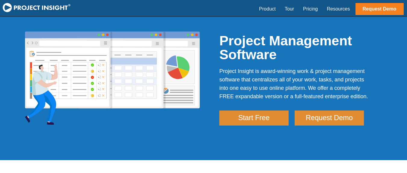 Project Insight gantt chart tool