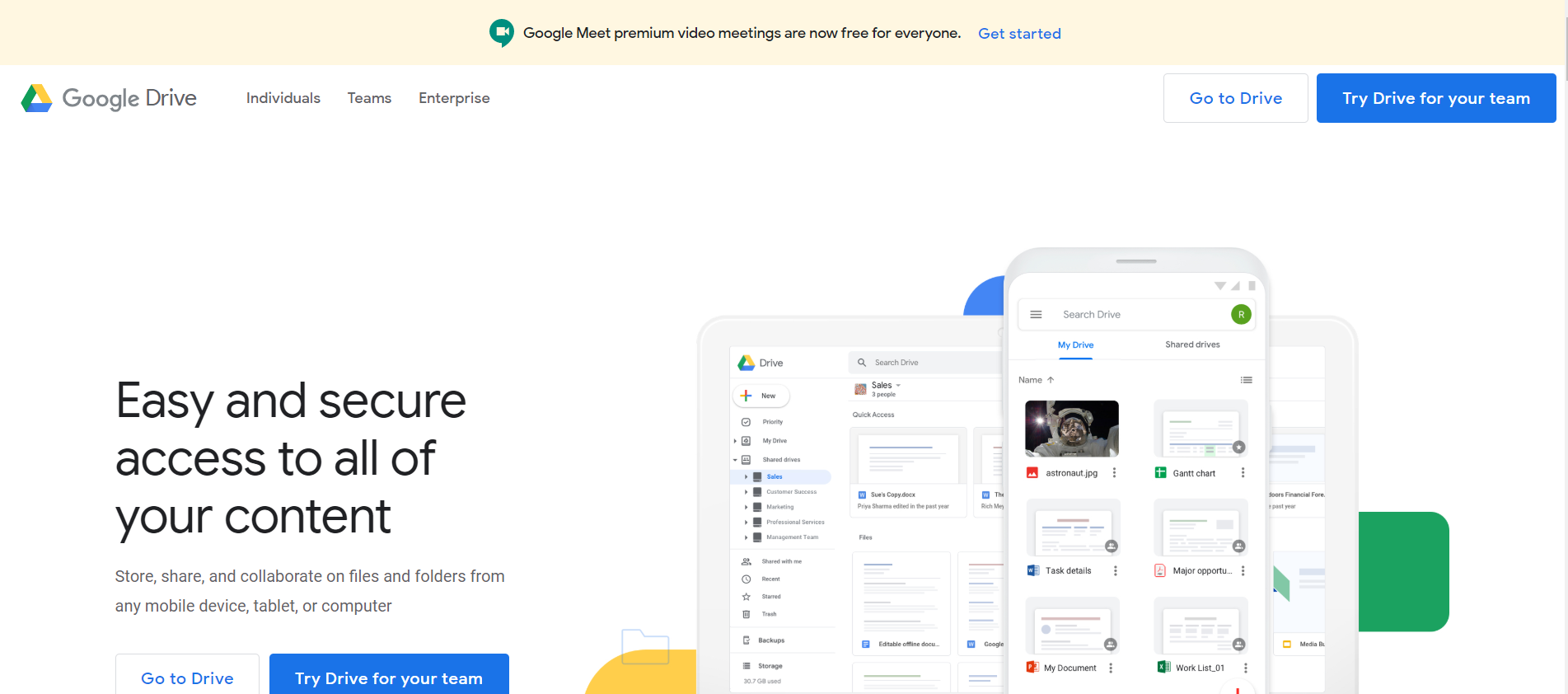 Google Drive as best document management tool for managers