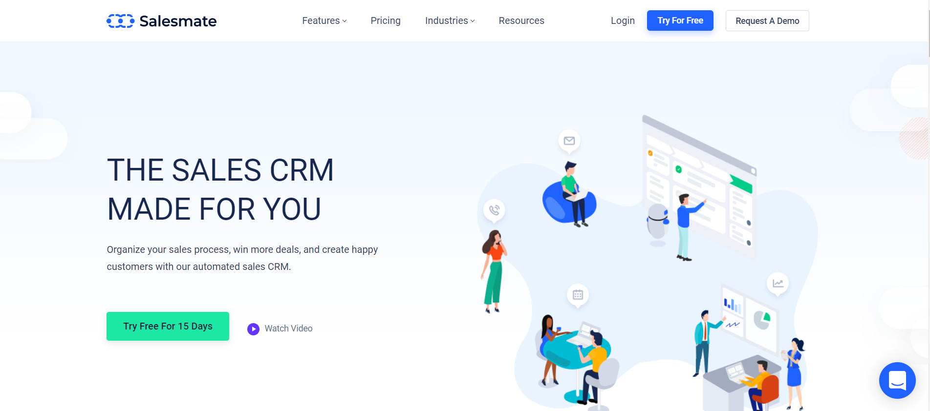 Salesmate as best crm tools for manager