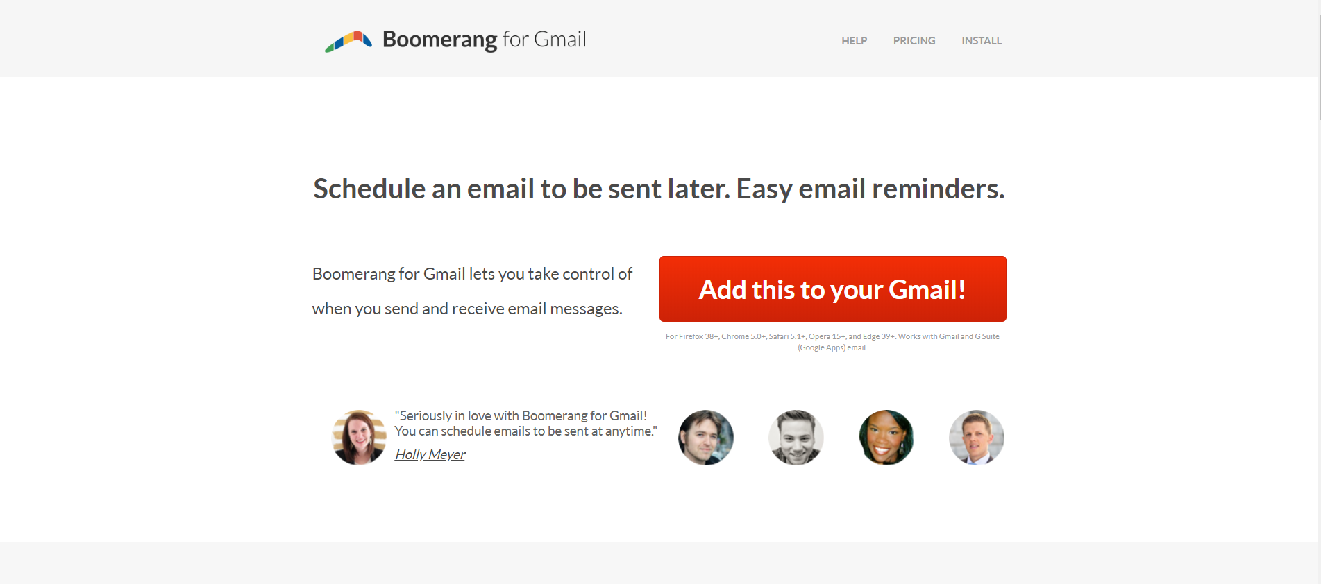 scheduling emails tool for managers